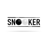 Snooker icon illustration Stock Photography