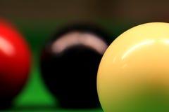 Snooker-Kugeln Lizenzfreie Stockfotos