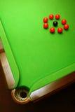 Snooker Kugeln Lizenzfreies Stockfoto