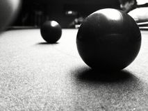 Snooker one turn Royalty Free Stock Photography