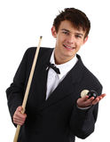 Snooker player Stock Photos