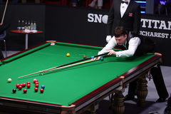 Snooker player, Jimmy White Stock Photo