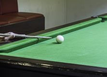 Game snooker royalty free stock image