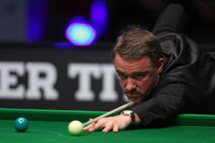 Snooker player, Stephen Hendry Royalty Free Stock Photography