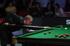 Snooker player, Stephen Hendry Royalty Free Stock Images
