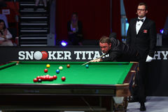 Snooker player, Stephen Hendry Stock Image