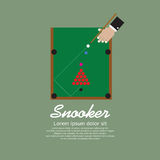 Snooker Playing. Royalty Free Stock Image