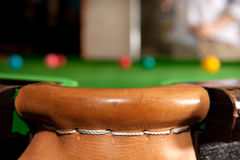 Snooker pocket Stock Photography
