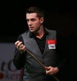 Snooker чемпион мира, отметьте турнир игр Selby дружелюбный в Бухаресте Стоковые Изображения
