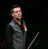 Snooker чемпион мира, отметьте турнир игр Selby дружелюбный в Бухаресте Стоковые Изображения RF