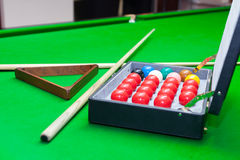 Snooker set Stock Photography