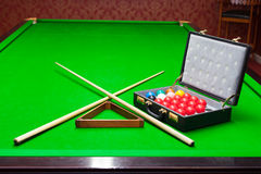 Snooker set Royalty Free Stock Photography