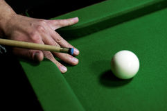 Snooker Table. Abstract image of a snooker Table royalty free stock image