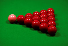 Snooker Table Stock Image