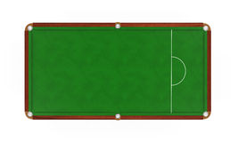 Snooker Table Isolated Royalty Free Stock Image