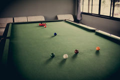 Snooker Table Stock Photography