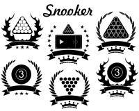 Snooker. Vector illustration (EPS 10 royalty free illustration