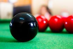 Snookerbälle Lizenzfreies Stockbild