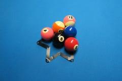 Snookerbälle stockbilder