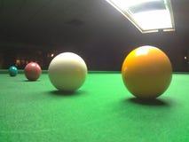 Snookerbollar Arkivbilder
