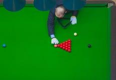 Snookerdomare Royaltyfria Bilder