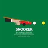 Snookerkonkurrens stock illustrationer