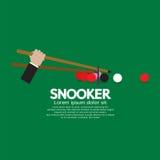 Snookerkonkurrens royaltyfri illustrationer