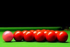 Snookerkugeln Lizenzfreie Stockbilder