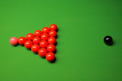 Snookerkugeln Lizenzfreies Stockfoto