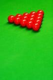 Snookerkugeln Stockfotografie