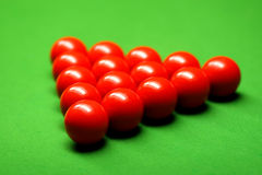 Snookerkugeln Lizenzfreie Stockfotografie
