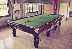 Snookerlijst Royalty-vrije Stock Foto