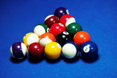 Snookerlijst Stock Fotografie