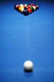 Snookerlijst Royalty-vrije Stock Afbeelding