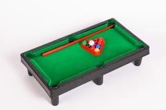 Snookerlijst voor jonge geitjes royalty-vrije stock afbeelding