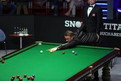 Snookerspeler, Stephen Hendry Stock Foto