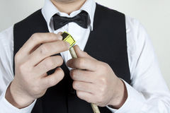 Snookerspieler Lizenzfreie Stockbilder