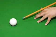 Snookerspieler Stockfotos