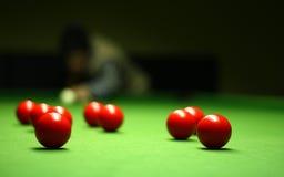 Snookerspieler Lizenzfreies Stockbild