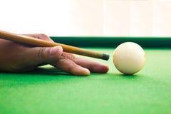 Snookerspieler Stockbilder