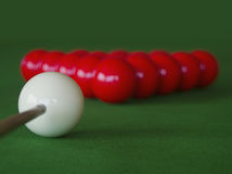 Snookertabell Royaltyfria Foton
