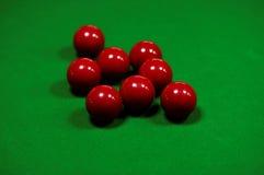 Snookertabell Royaltyfri Foto
