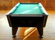 Snookertabelle Lizenzfreie Stockfotos