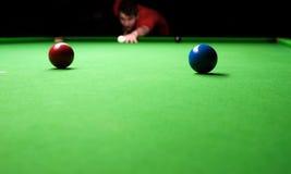 Snookertabelle Lizenzfreies Stockfoto