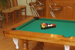 Snookertabelle Stockbilder