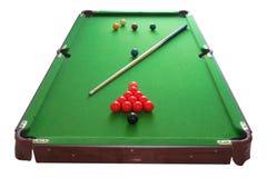 Snookertabelle Lizenzfreie Stockfotografie