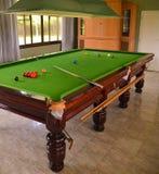 Snookertisch Lizenzfreies Stockbild