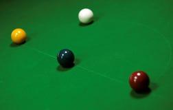 Snookertisch Lizenzfreies Stockfoto