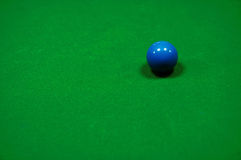 Snookertisch Stockfoto