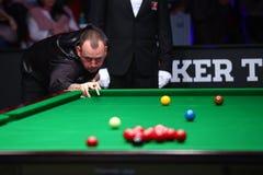 Snookeru gracz, Mark Williams Obrazy Royalty Free